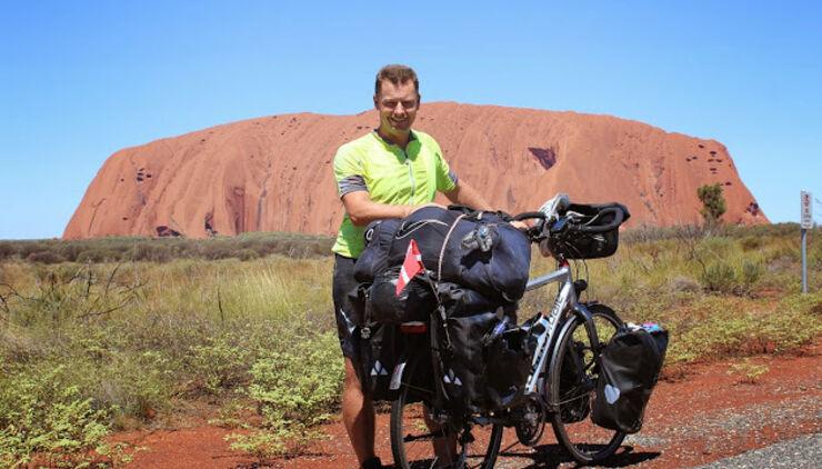 10.000 km på cykel