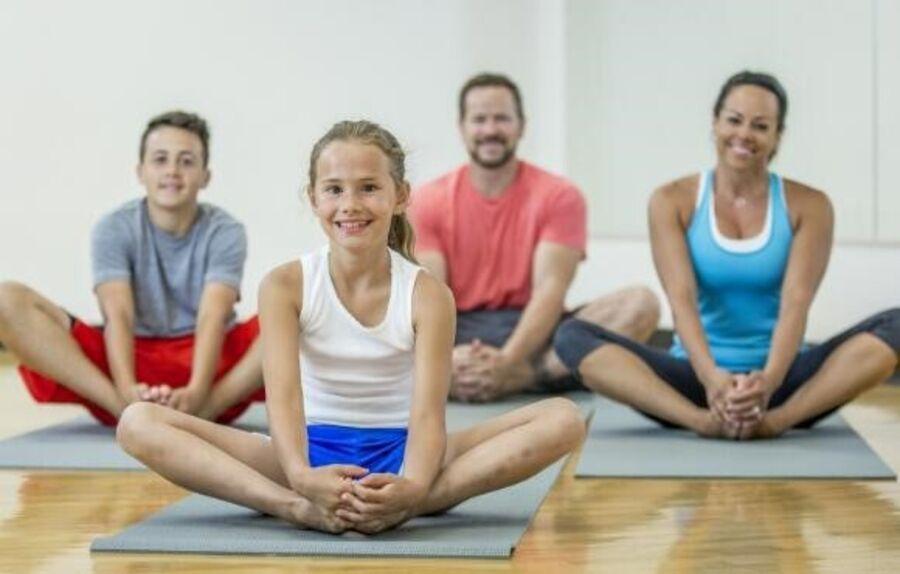 familie yoga