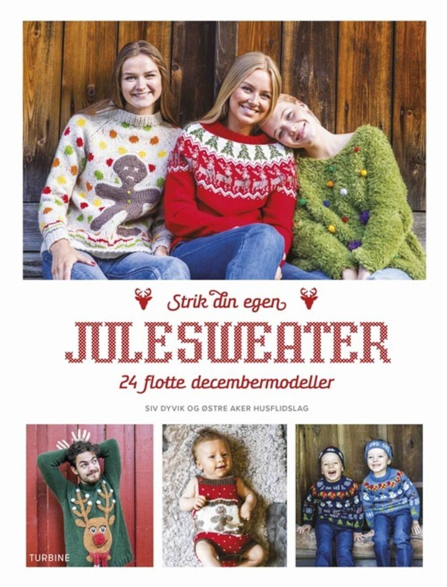 Strik din egen julesweater: 24 flotte decembermodeller