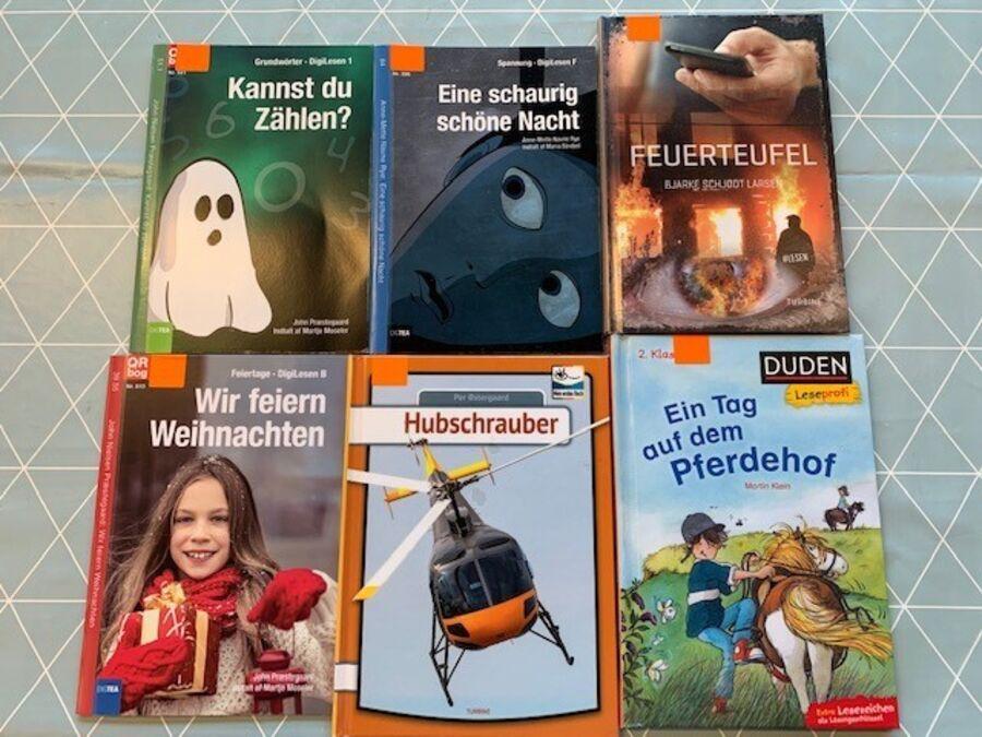 Nye tyske læs-let-bøger