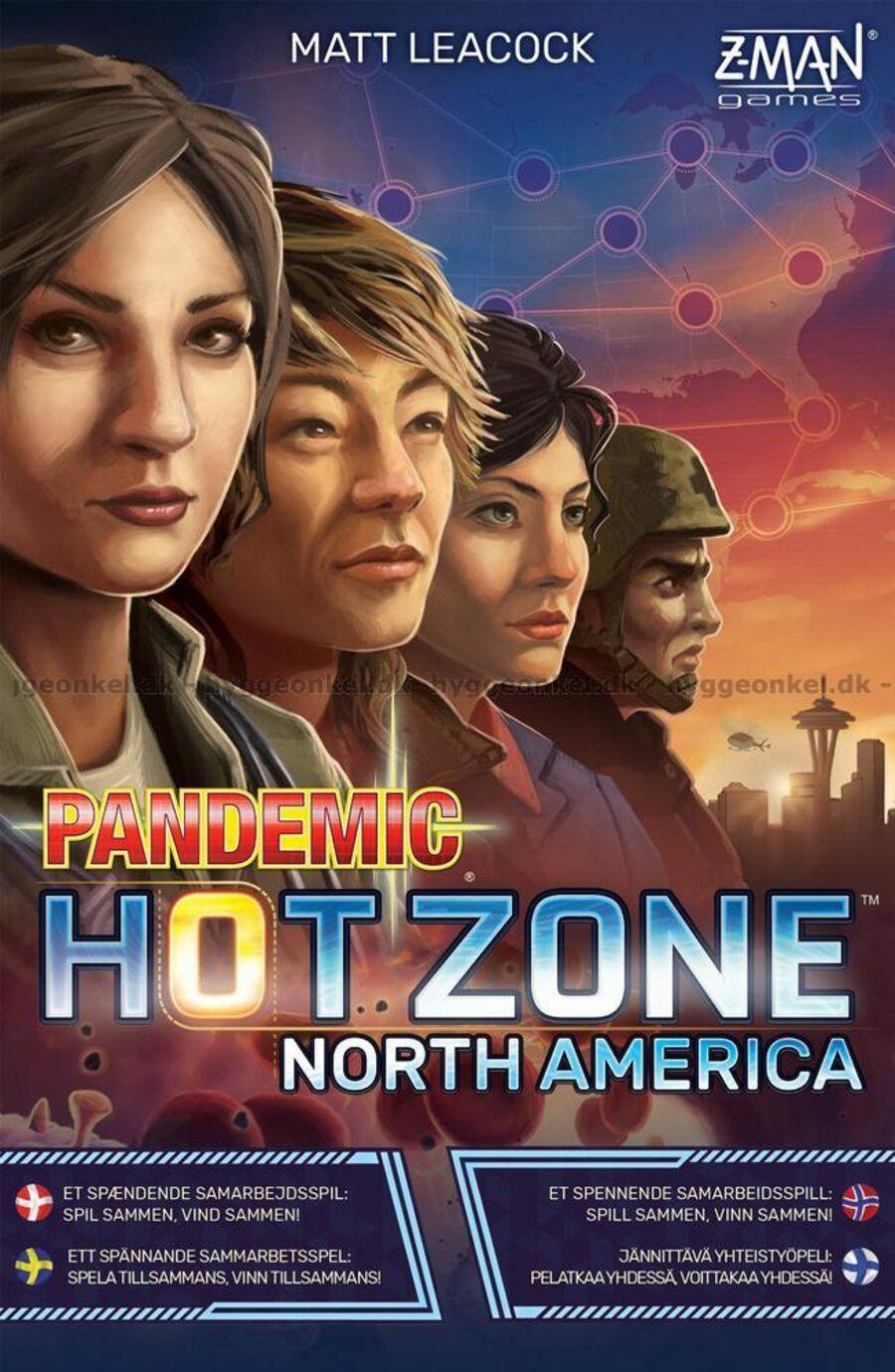 Pandemic - hot zone - North America