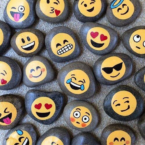 Stenmaling emoji